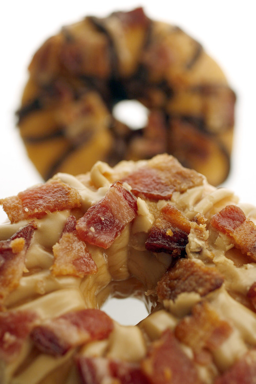 Bacon doughnuts anyone pork crossing over into desserts for Australian traditional cuisine