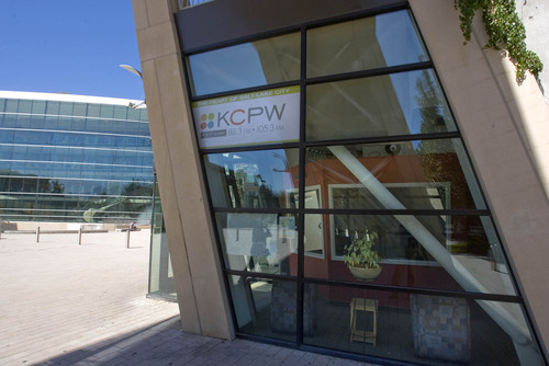 Paul Fraughton  |  The Salt Lake Tribune  The Salt Lake City Council, acting as the Redevelopment Agency Board, unanimously approved a $250,000 loan Tuesday, that will allow public radio station KCPW, located at Library Square, to pay part of its debt and stay on the air.