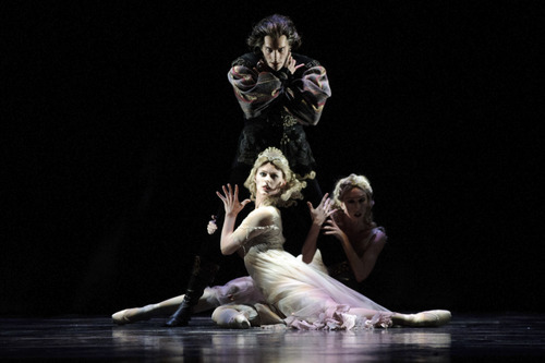 Artists of Ballet West in the Utah premiere of Ben Stevenson's