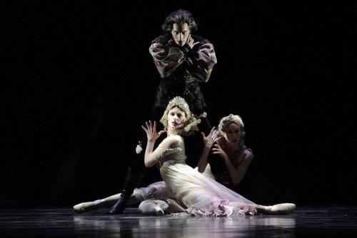 Artists of Ballet West in the Utah premiere of Ben Stevenson's