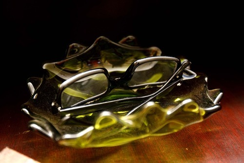 Trent Nelson  |  The Salt Lake Tribune A pair of glasses inside the Up house, modeled after the home from the Pixar film