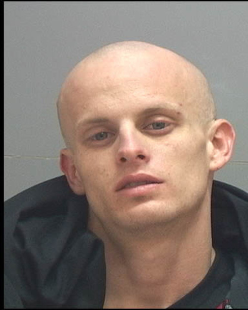 Bransen Parduhn. Salt Lake County Jail booking photo. Courtesy  Salt Lake Co. Jail