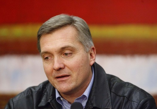 Tribune file photo  Congressman Jim Matheson, D-Utah, said his options remain open for seeking re-election to the U.S. House, running for one of two other House districts or seeking election to the U.S. Senate or Utah governor. He said he is not surprised Republican lawmakers dramatically changed his 2nd Congressional District -- an exercise he called