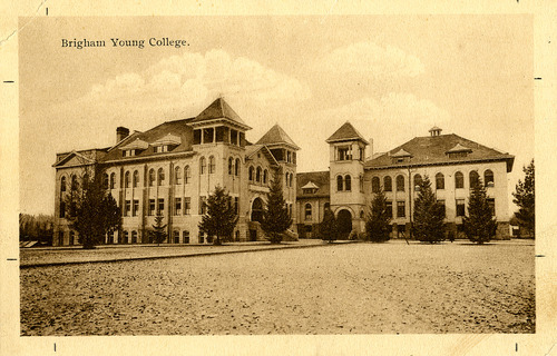 Tribune file photo  A view of Brigham Young College is seen in this undated photo.