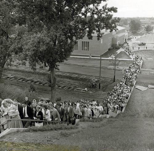 Tribune file photo  The original caption on this 1965 photo says: