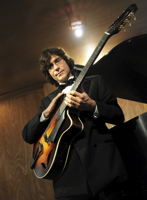 Jazz guitarist Frank Vignola will headline the Capitol Theatre on Monday, Oct. 21. Courtesy photo
