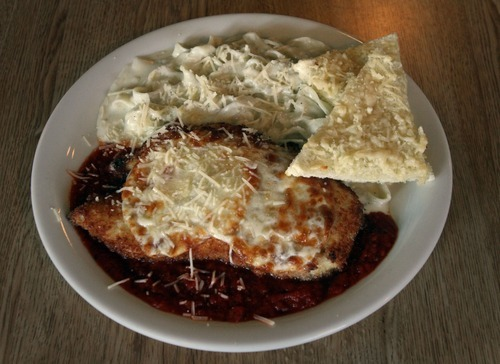 Rick Egan  | The Salt Lake Tribune   Chicken parmesan, at Penny Ann's Cafe, 1810 S. Main, Salt Lake City.