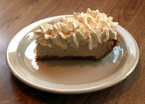 Rick Egan  | The Salt Lake Tribune  Penny Ann's Cafe, at 1810 S. Main in Salt Lake City, serves simple, well-executed American and Italian comfort foods. Come for the great sandwiches like the Reuben but stay and linger over the exceptional made-from-scratch pies. Pictured, Key lime pie.