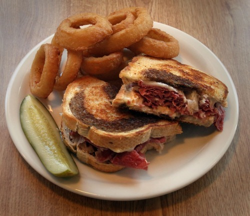 Rick Egan  | The Salt Lake Tribune   The Reuben sandwich at Penny Ann's Cafe, 1810 S. Main, Salt Lake City.