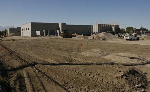 Francisco Kjolseth  |  The Salt Lake Tribune The Larry H. Miller Empire has an impressive automotive business, particularly in Murray with a Chevrolet, GM, Toyota and soon to be Honda dealership seen here under construction just South of the centrally located Toyota located at 5650 S. State.
