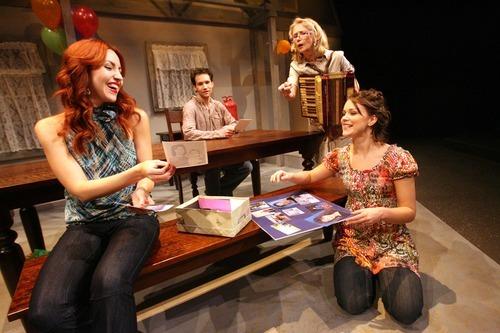 Leah Hogsten | The Salt Lake Tribune   l-r  Deena Marie Manzanares plays