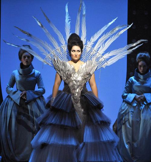 Singer Erin Morley as Marguerite de Valois in