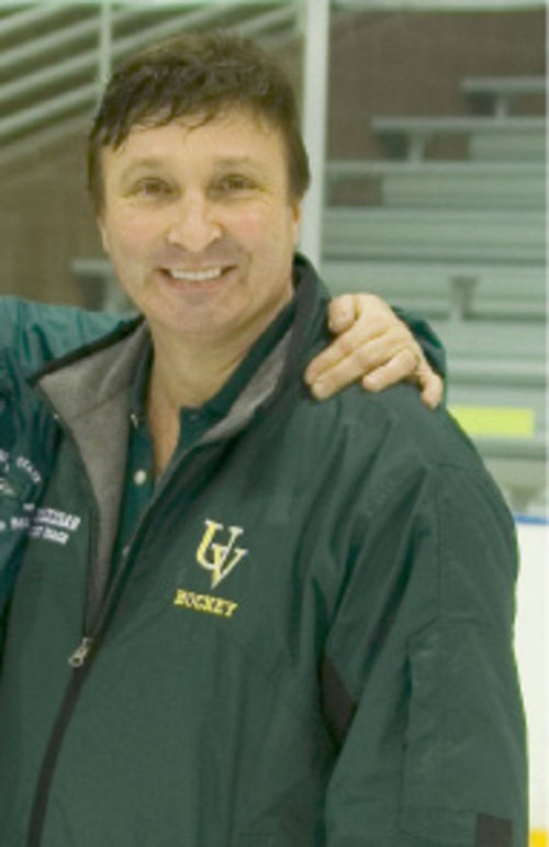 Kenneth G. Dolezsar, 50, was an assistant coach for the Utah Valley State College hockey team. Photo courtesy of the team.