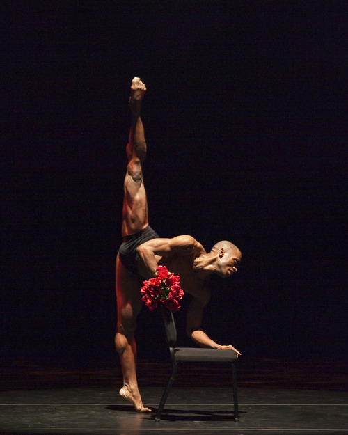 Desmond Richardson, of Complexions Contemporary Ballet. (Courtesy image by Sharon Bradford)