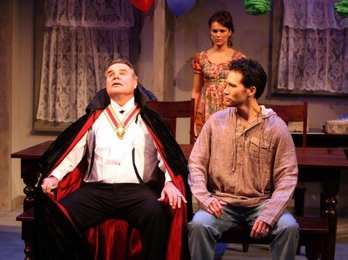 Leah Hogsten   The Salt Lake Tribune  Terence Goodman plays