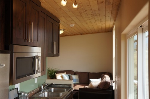 398-square-foot home built by Zip Kit Homes of Mount Pleasant. Credit Chris Juassi