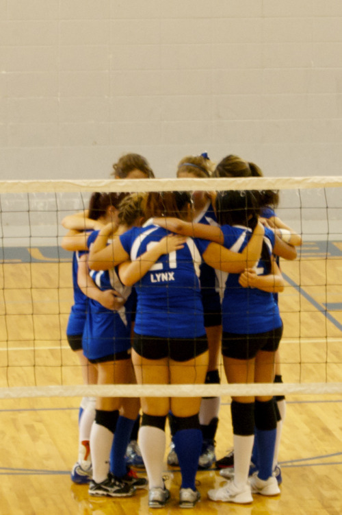 Concordia Prep volleyball team, 2011.  Courtesy Kelly Banyard