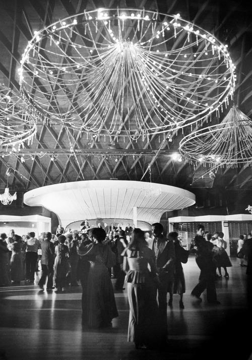 Dancing at Saltair in 1978.