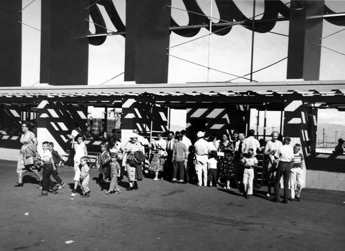 Saltair boardwak - 1957
