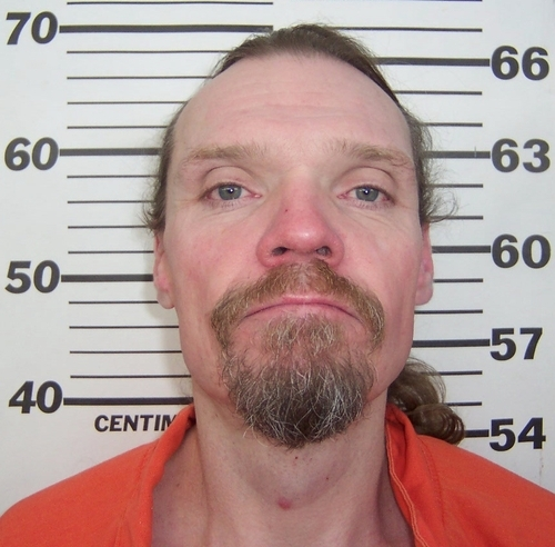 Michael W. Manhard, 42, who was found dead Nov. 11, 2011, in his tent in Pioneer Park in Salt Lake City. Photo courtesy of Utah Department of Corrections