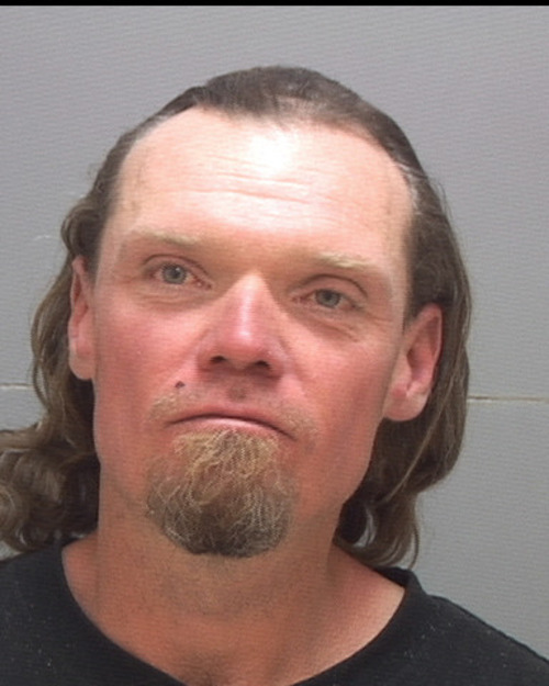 Michael W. Manhard, 42, who was found dead Nov. 11, 2011, in his tent in Pioneer Park in Salt Lake City. This 2008 photo is courtesy Salt Lake County jail.