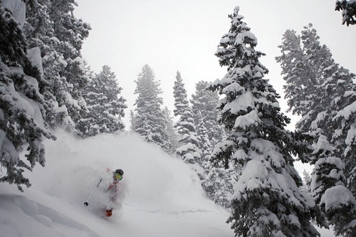 Photo courtesy Will Wissman The Salt Lake City segment of 2008 Warren Miller ski  movie,