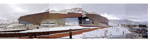 Steve Griffin  |  The Salt Lake Tribune   A composite photograph of the new Natural History Museum of Utah in Salt Lake City, Utah Saturday, November 5, 2011.