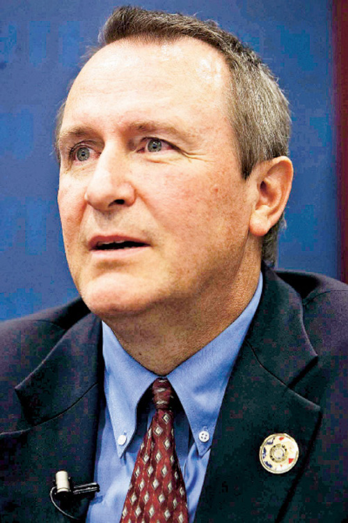 Trent Nelson  |  Tribune file photo Utah Attorney General Mark Shurtleff says Utah's expense for outside legal counsel in the lawsuit challenging federal health reform is capped at $5,000.