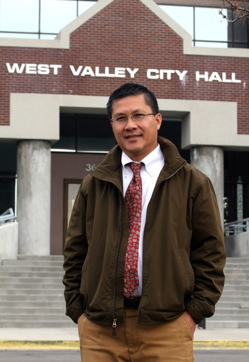 Image result for tom huynh + mayor west valley city