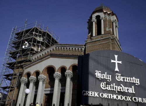 Tribune file photo  Holy Trinity Greek Orthodox Cathedral in downtown Salt Lake City.