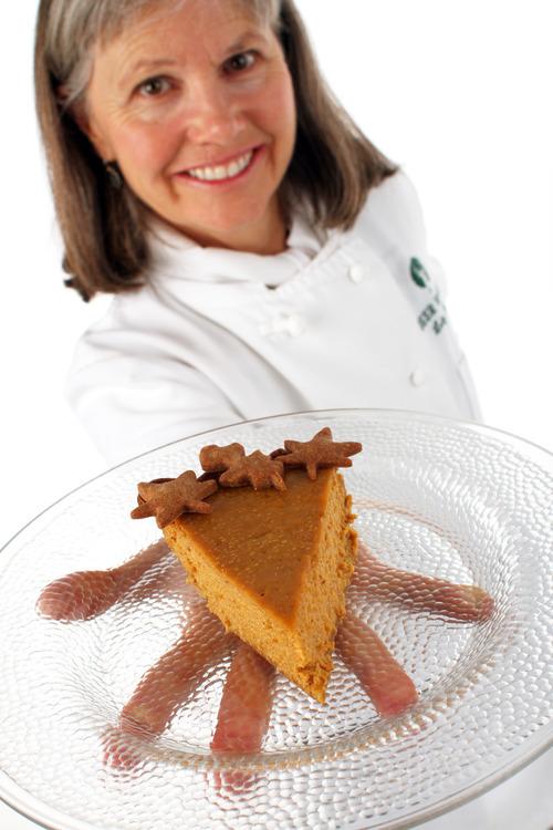 Francisco Kjolseth  |  The Salt Lake Tribune Letty Flatt with pumpkin pie.