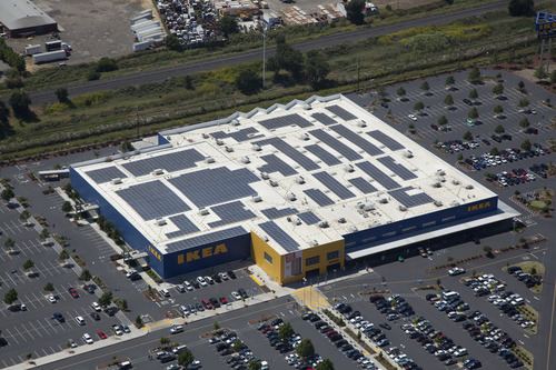 ikea to add solar power system to its draper store the