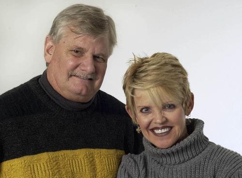 Francisco Kjolseth  |  The Salt Lake Tribune  Paul Rolly and JoAnn Jacobsen-Wells were column-writing partners for 13 years at The Salt Lake Tribune.