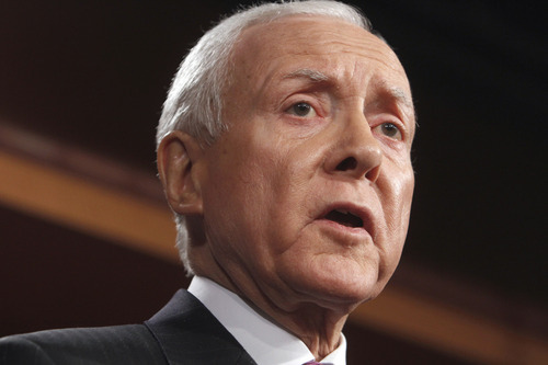 AP file photo Sen. Orrin Hatch, R-Utah, opposes extension of a payroll tax cut. He said Congress should be focused on permanent tax reform.