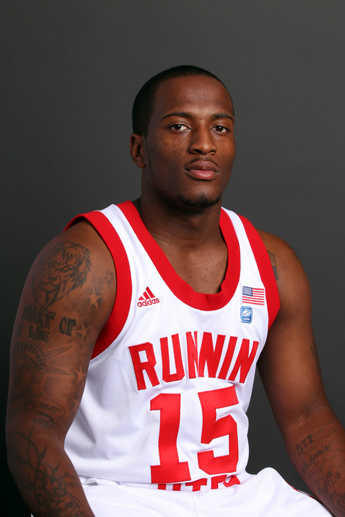Josh Watkins, University of Utah Men's Basketball October 14, 2010 in Salt Lake City.  ( Photo/Steve C. Wilson)