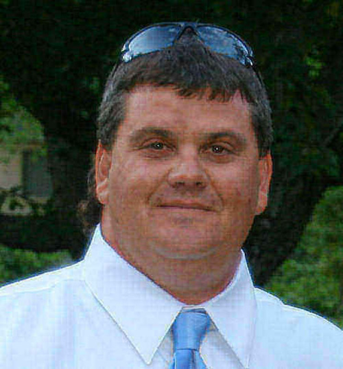 Brian P. Wood, killed in a standoff with police in 2008.  Courtesy of the Wood family.