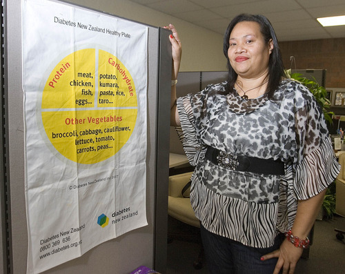 Paul Fraughton | The Salt Lake Tribune Lina Lakai has adopted new health practices that have helped her lose weight with help from the National Tongan American Society in Utah.