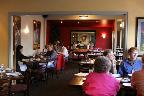Tribune file photo Lugano in Holladay will be among the Utah restaurants that will be open on Christmas Eve.