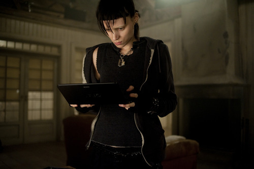 Courtesy photo Rooney Mara  as Lisbeth Salander in in a scene from