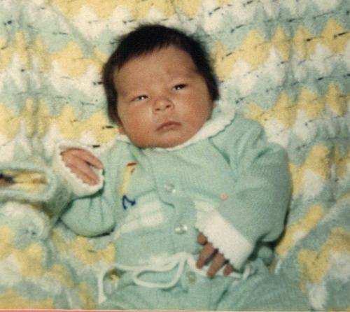 Kai Blakesley, days after his birth in Salt Lake City. Courtesy Keri Stone