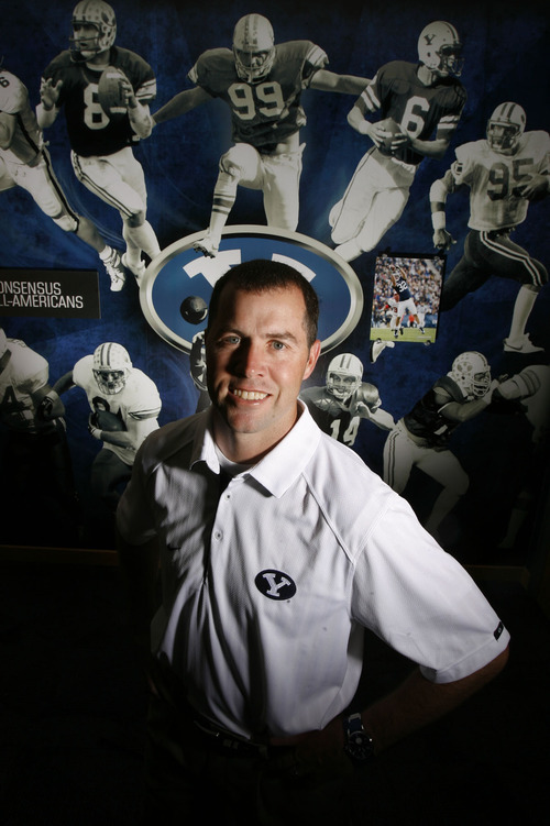 Francisco Kjolseth  |  The Salt Lake Tribune BYU new recruiting coordinator Joe DuPaix is changing the way they go after football recruits, and broadening their recruiting horizons to include more non-LDS players.