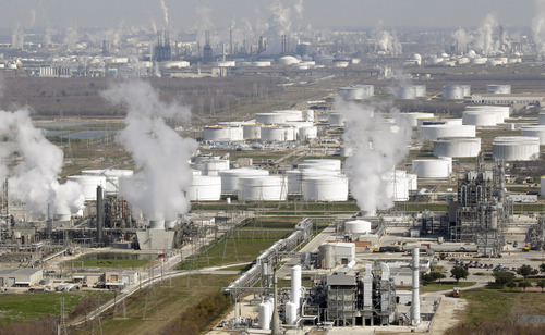 Associated Press file photo The U.S. is using less fuel because of a weak economy and more efficient cars and trucks. That allows refiners to sell more fuel to rapidly growing economies in Latin America, for example.
