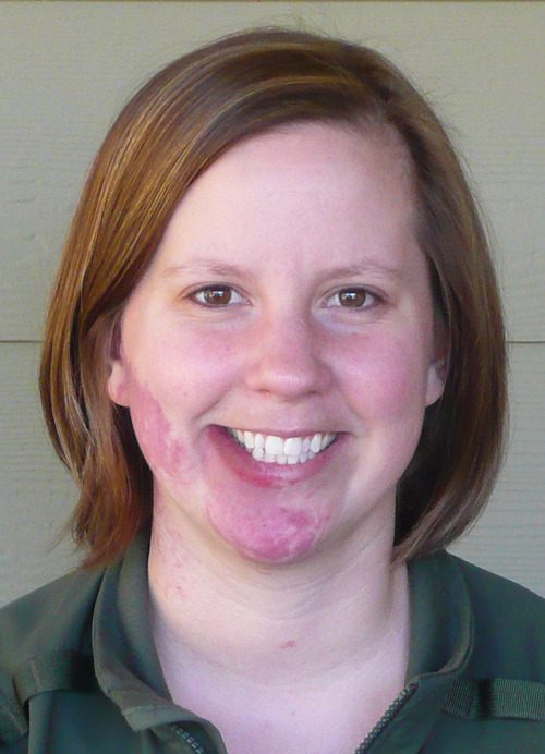 This undated photo provided by Mount Rainier National Park shows park Ranger Margaret Anderson. Anderson, 34, was fatally shot Sunday, Jan. 1, 2012, at Mount Rainier National Park in Washington state, according to the National Park Service. Officials closed the park after the shooting Sunday, and asked people to stay out of the area while they search for a man carrying a long rifle. (AP Photo/Mount Rainier National Park)