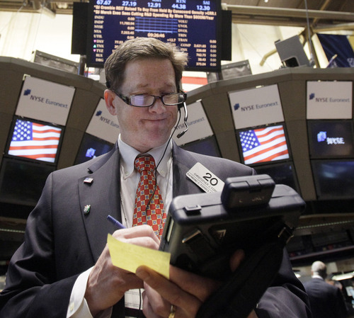 (AP Photo/Richard Drew) One stocks outlook says there will be more volatility and a continued