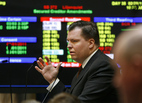 Tribune file photo Former Sen. Dan Liljenquist, R-Bountiful, was scheduled to announce his candidacy Wednesday for the U.S. Senate.