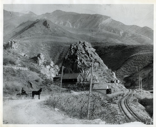 Tribune file photo  The entrance to Parley's Canyon is seen in this undated photo.