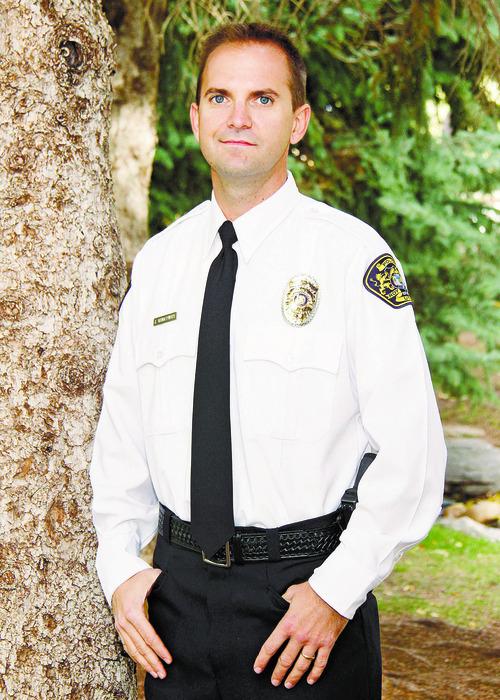 Courtesy of Roy Police Department Roy police Officer Jason VanderWarf