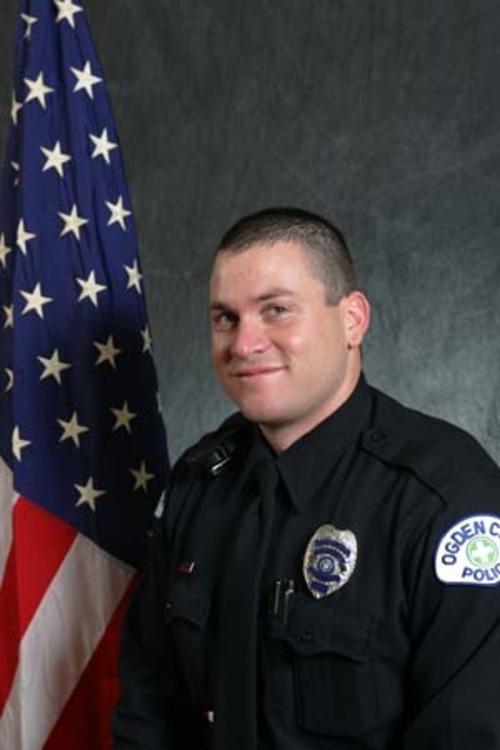 Courtesy of Ogden Police Department Ogden police Officer Kasey Burrell