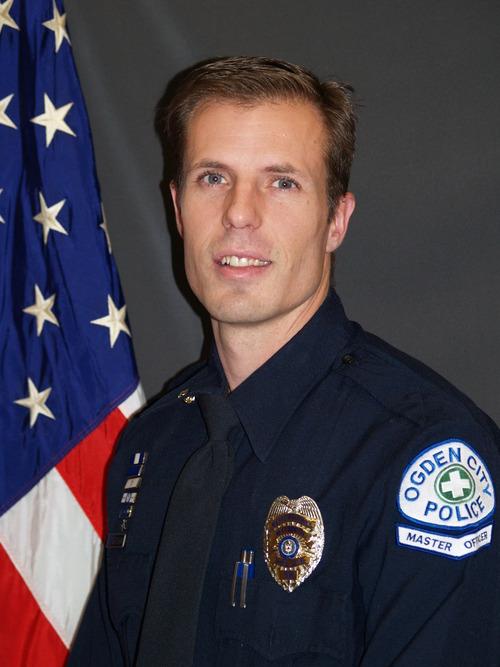 Courtesy photo Ogden police Officer Shawn Grogan