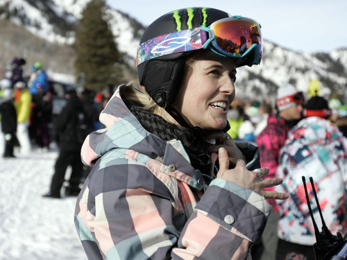 Tribune file photo  Sarah Burke, a Canadian freestyle skier, sustained